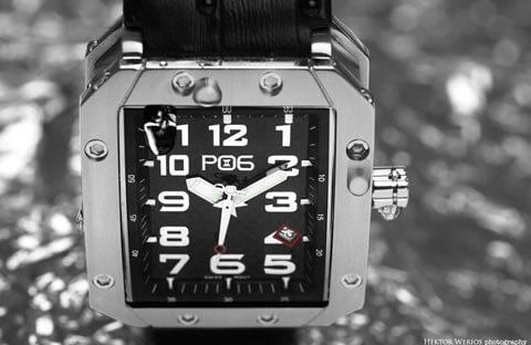 Profesjonalna sesja produktowa zegarków szwajcarskich PO6 - Dubaj