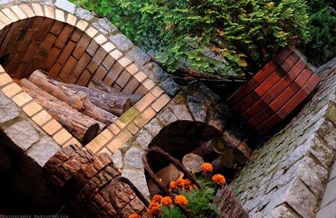 Fotografia biznesowa w ogrodzie restauracji Oaza - Wielowieś