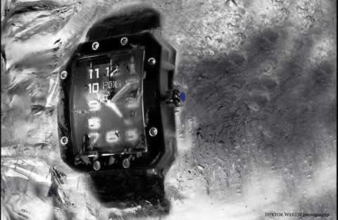 Profesjonalna sesja zdjęciowa zegarków szwajcarskich PO6 - Zjednoczone Emiraty Arabskie
